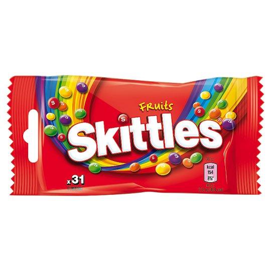 Skittles Fruits Cukierki do żucia 38 g (31 cukierków)