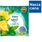 Tesco Mint and Lemon Herbatka ziołowa 40 g (20 torebek)