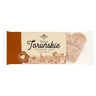 Kopernik Toruńskie Pierniki Sugarcoating Gingerbread Hearts 120 g