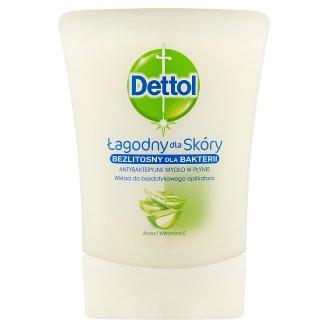 Dettol Aloe Vera Opakowanie uzupełniające do bezdotykowego aplikatora mydła w płynie 250 ml