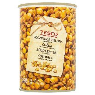 Tesco Green Lentils in Brine 390 g