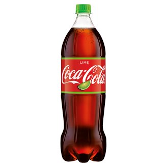 Coca-Cola Lime Napój gazowany 1,5 l
