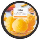 Tesco Sorbet marakuja i mango 500 ml