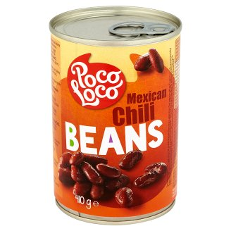 Poco Loco Fasola czerwona Kidney w sosie pomidorowym z przyprawami 410 g