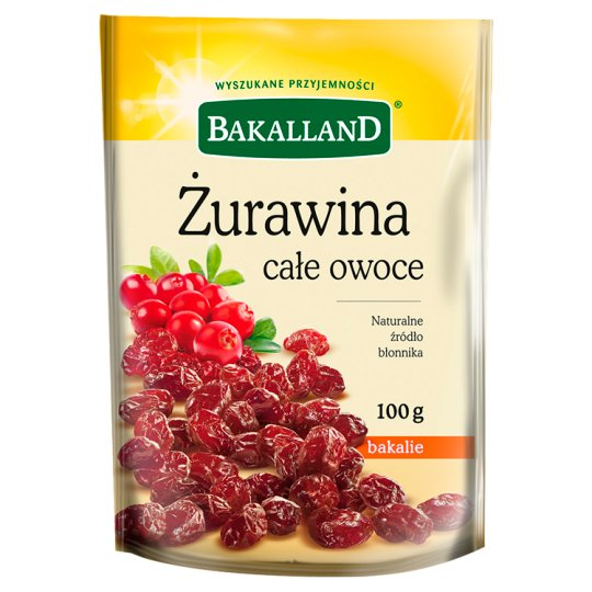 Bakalland Cranberry Whole Fruit 100 g