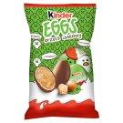 Kinder Eggs Chrupiący wafelek pokryty mleczną czekoladą z mleczno-orzechowym nadzieniem 120 g