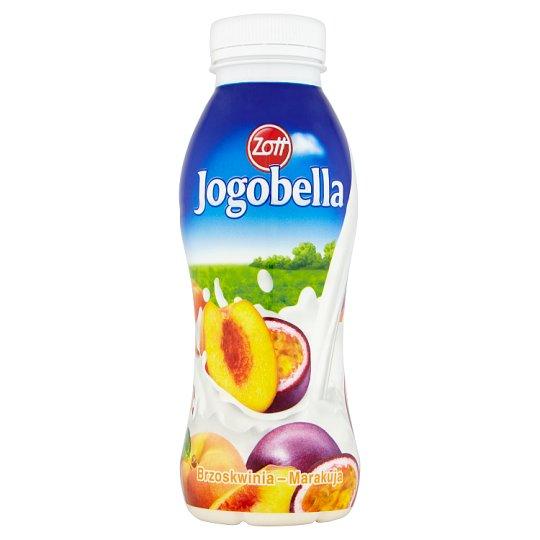 Zott Jogobella Peach-Passion Fruit Drink Yoghurt 300 g