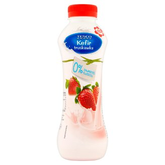 Tesco Strawberry Kefir 450 g