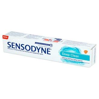 Sensodyne Deep Clean Pasta do zębów z fluorkiem 75 ml
