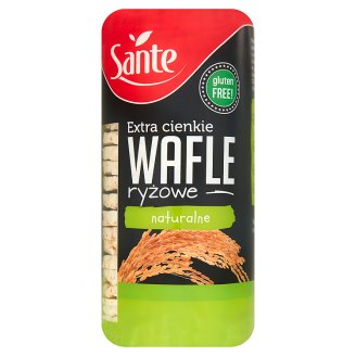 Sante Natural Extra Thin Rice Wafers 110 g