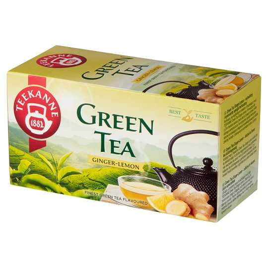 Teekanne Ginger-Lemon Green Tea 35 g (20 x 1.75 g)