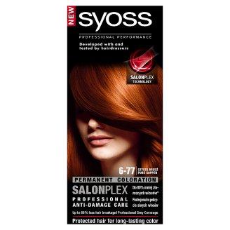 Syoss SalonPlex Farba do włosów Czysta miedź 6-77