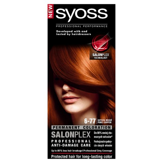 Syoss SalonPlex Hair Colorant Pure Copper 6-77