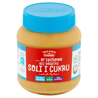Primavika No Added Salt and Sugar Peanut Paste 350 g