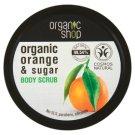 Organic Shop Sycylijska pomarańcza Peeling do ciała 250 ml