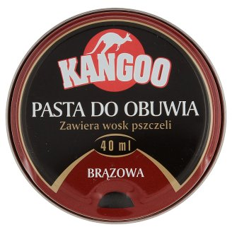Kangoo Brown Shoe Polish 40 ml