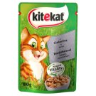 Kitekat Complete Food for Adult Cats with Veal in Sauce 100 g
