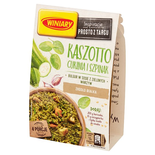 Winiary Zucchini and Spinach Kaszotto 230 g