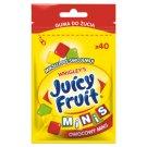 Juicy Fruit Minis Owocowy Miks Guma do żucia bez cukru 28 g (40 minidrażetek)