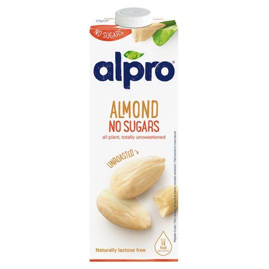 Alpro Unsweetened Almond Drink 1 L
