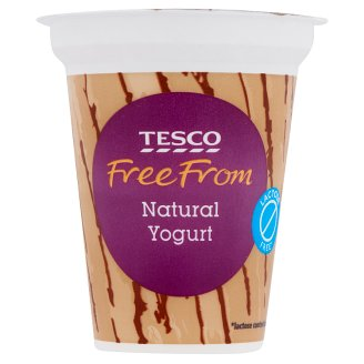Tesco Free From Natural Yogurt 2.8% 150 g