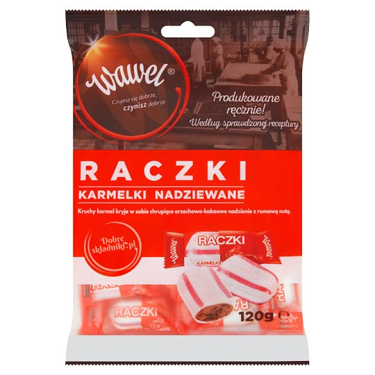 Wawel Raczki Filled Candies 120 g