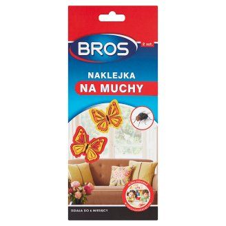 Bros Anti Flies Sticker 2 Pieces