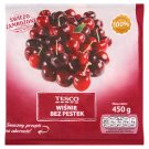 Tesco Stoned Cherries 450 g