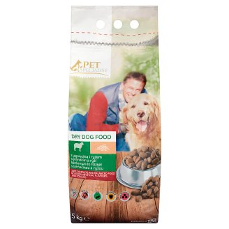 Tesco Pet Specialist Rings with Lamb and Rice Dry Food for Adult Dogs 5 kg