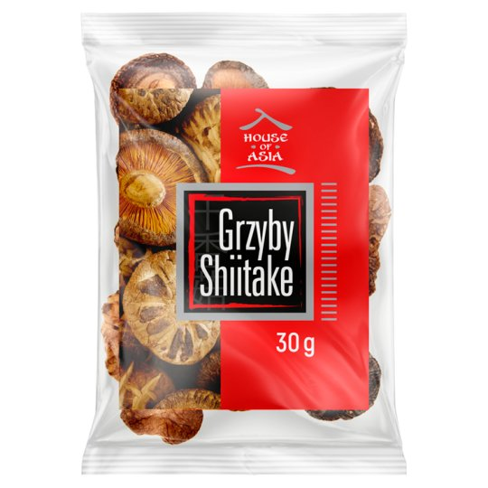 House of Asia Whole Shiitake Mushrooms 30 g