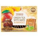 Tesco Mate & Mango Herbata zielona 22,5 g (15 torebek)