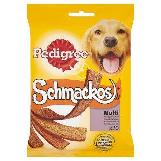 Pedigree Schmackos Multi Supplementary Dog Food 172 g (20 Pieces)