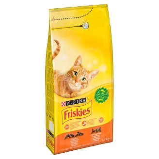 Friskies Cat Food with Chicken and Vegetables 1.7 kg