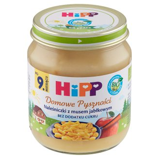 HiPP BIO Domowe Pyszności Pancakes with Apple Mousse after 9 Months Onwards 200 g