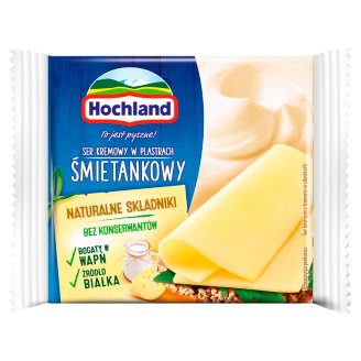 Hochland Cream Cream Cheese in Slices 130 g (Pieces)