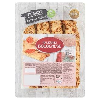 Tesco Express Menu! Naleśniki Bolognese 400 g