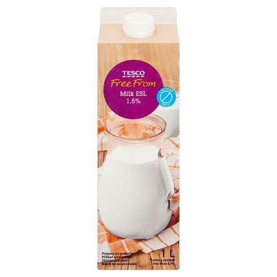 Tesco Free From Mleko homogenizowane bez laktozy 1,5% 1 l