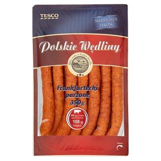 Tesco Polskie Wędliny Frankfurterki parzone 350 g
