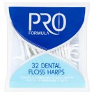 Tesco Pro Formula Dental Floss Harps 32 Pieces