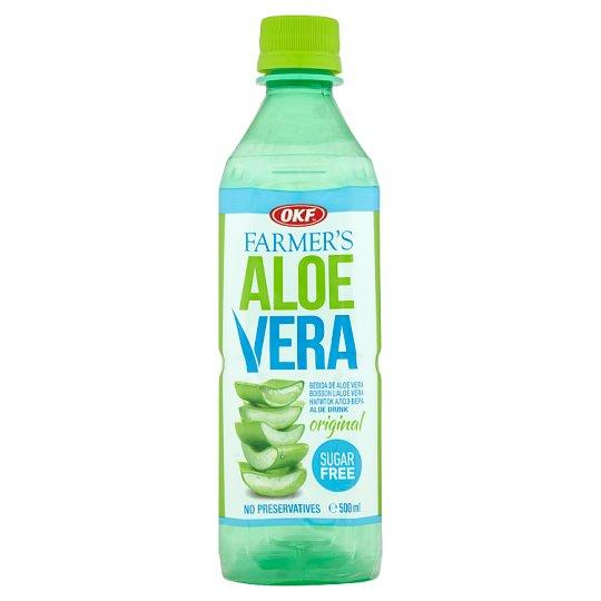 OKF Farmer's Aloe Vera Napój aloesowy bez cukru 500 ml