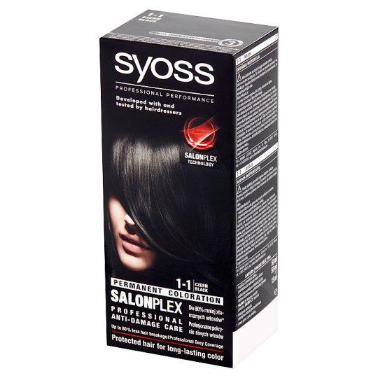 Syoss SalonPlex Hair Colorant Black 1-1