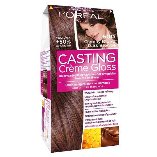 L'Oreal Paris Casting Creme Gloss Farba do włosów 600 ciemny blond