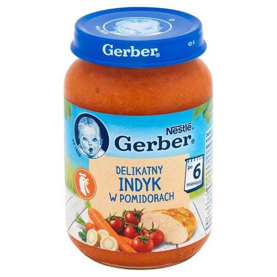 Gerber Delicate Turkey in Tomatoes after 6 Months Onwards 190 g