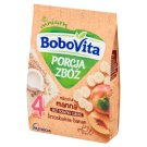 BoboVita Porcja Zbóż Semolina Milk Porridge Peach and Banana Flavoured after 4 Months Onwards 210 g
