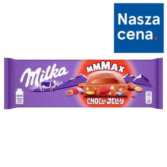 Milka Mmmax Choco Jelly Alpine Milk Chocolate 250 g