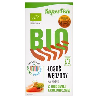SuperFish Bio Cold Smoked Salmon 100 g