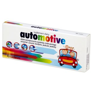 Automotive Suplement diety 10 tabletek