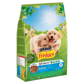 Friskies Vitafit Junior Dog Food with Chicken and Vegetables 8 kg