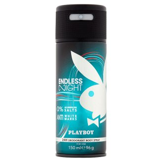 Playboy Endless Night Deodorant Body Spray for Him 150 ml