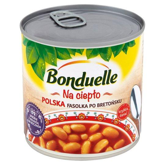 Bonduelle Na ciepło Polska fasolka po bretońsku 430 g